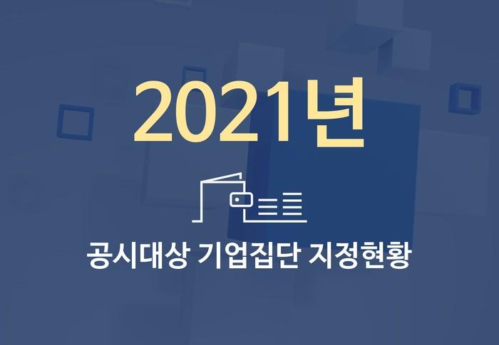 2021년도 대기업집단 지정 현황