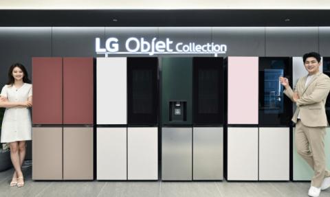 LG전자, 오브제컬렉션 상냉장·하냉동 냉장고 라인업 확대