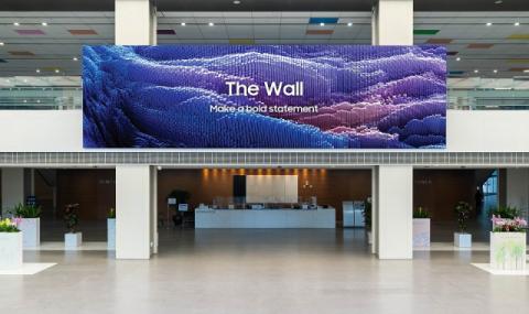 삼성전자, 차세대 상업용 디스플레이 '더 월' 신제품 출시