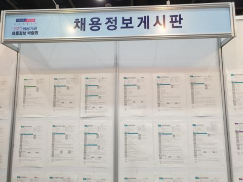 공공기관 취업 바늘구멍 '여전'…남동발전, 상반기 최종 경쟁률 715:1