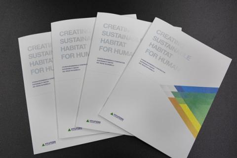 현대건설, '2021 지속가능경영보고서 발간'…글로벌 ESG경영 박차