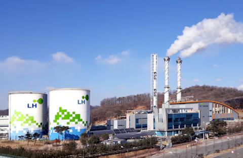 LH 아산‧대전에너지사업단 대기오염물질 배출량  5년간 68%↑