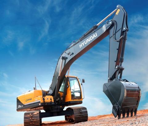 현대건설기계, 브라질서 2500만 달러 규모 굴착기 263대 수주