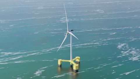 두산중공업, 8MW 부유식 해상풍력시스템 개발 돌입