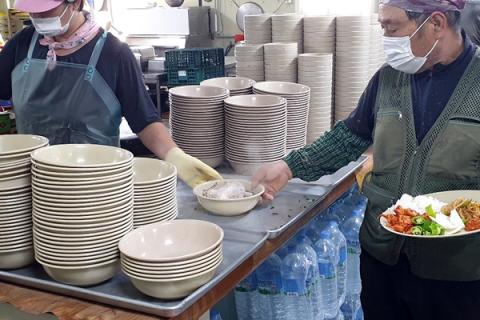호반건설·호반산업, 7000여명 현장 근로자에게 보양식 제공
