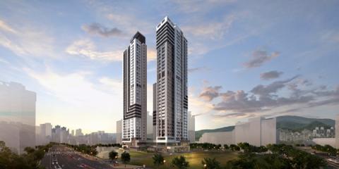 KCC건설, '해운대 라센트 스위첸' 13일 견본주택 오픈