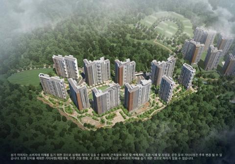 GS건설, 이달 경기 광주 '오포자이 오브제' 분양