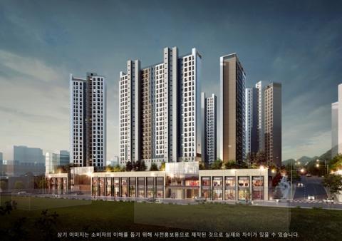 GS건설, '장유자이 더 파크' 10월 분양