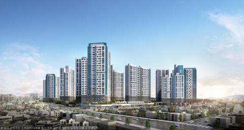 포스코건설, '더샵 청주센트럴' 17일 견본주택 개관