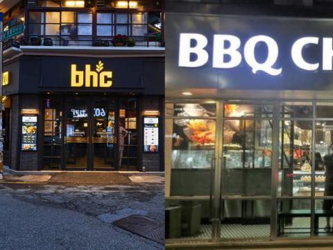 치킨 프랜차이즈 2~3위 BBQ·bhc, '자존심 대결' 어디까지