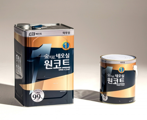 KCC, 1회 도장만으로 고품질 마감…'숲으로 네오실 원코트' 출시